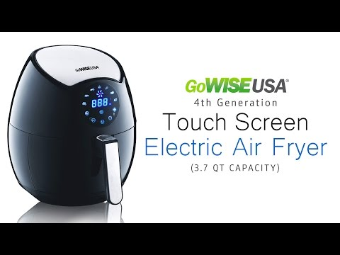 GoWISE USA 3.7 Qt Programmable 7-in-1 Air Fryer