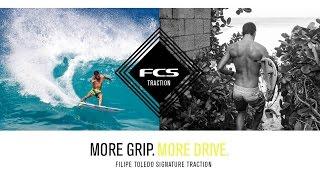 Filipe Toledo's new Athlete Traction More Grip More Drive