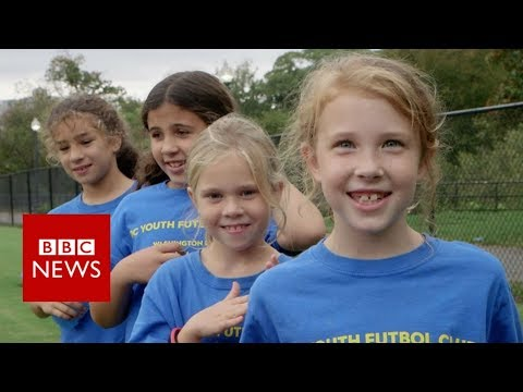 World Cup: Kids react to USA football team exit – BBC News