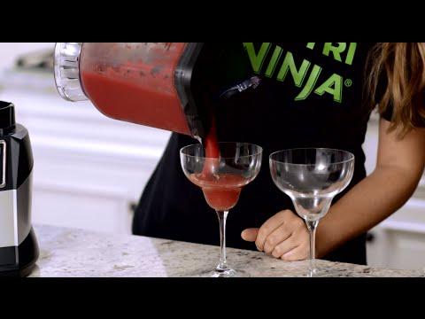 Video RECIPE: Strawberry Margarita in the 72 oz. Ninja® Blender Pitcher