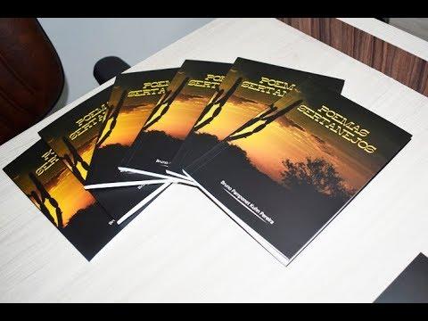 """Bruno Pamponet lança livro de poesia """"Poemas Sertanejos"""" em Baixa Grande"""