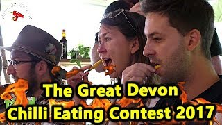 Chilli Eating Contest The Great Devon Chili Challenge Saturday October 2017