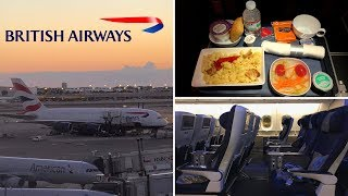 British Airways | A380 |  Miami, FL ✈ London Heathrow | World Traveller Plus |