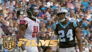 Josh Norman Mic'd Up vs. Julio Jones (Week 14) | Inside the NFL: Falcons vs. Panthers highlights