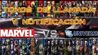 Mejores Tonos De Llamada Y Notificación De MARVEL VS DC // Descargar GRATIS