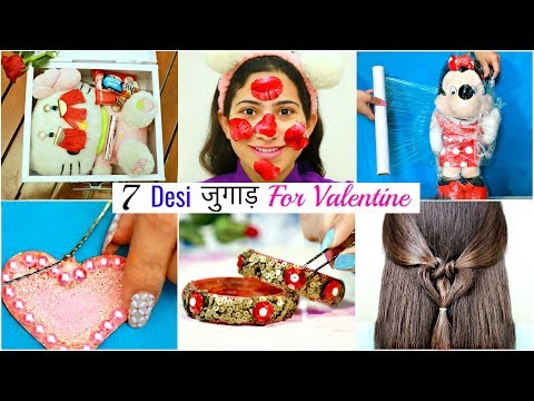 7 Desi जुगाड़ For Valentine's Day  – Life & Beauty Hacks | #Gifts #DIY #Fun #Sketch #Anaysa