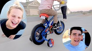 Buying Our 2 Year Old His First Bike!