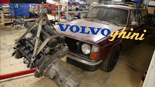 Volvoghini Project Update. Build/Weld Gearbox