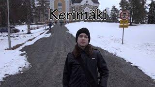 Kerimäki. Finland 4K. Деревянная церковь в Керимяки. Radodar TV. 25.03.17