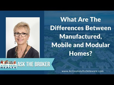 What is the Difference Between Manufactured, Mobile and Modular Homes?   Active Adults Realty