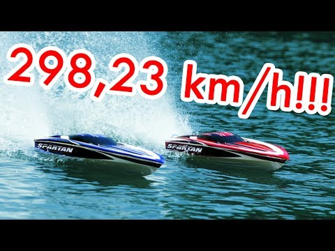 Rc Speed Boat -  298,23 km/h!!!