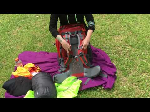 WASING 65l 60+5 liter backpack review