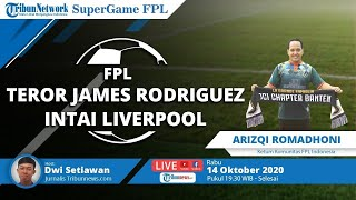 SUPERGAME FPL: Teror James Rodriguez Intai Liverpool