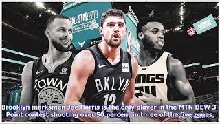 2019 NBA All-Star Game: Joe Harris wins 2019 MTN DEW 3-Point Contest
