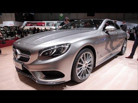 2015 Mercedes S-Class Coupe - 2014 Geneva Motor Show