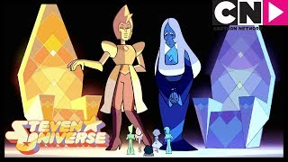 Steven Universe | Rose Quartz Shattered Pink Diamond | The Trial | Cartoon Network