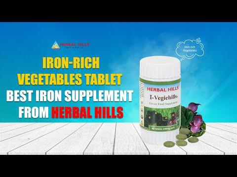 Iron Vegetable - I-Vegiehills 60 Tablet