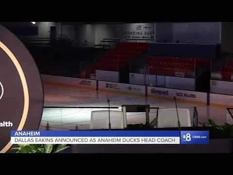 Dallas Eakins to be announced as head coach of Anaheim Ducks