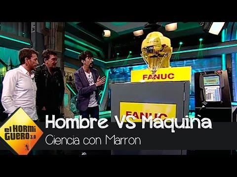 ¡El robot M-1 de FANUC sorprendió a Antonio Banderas en el Hormiguero!
