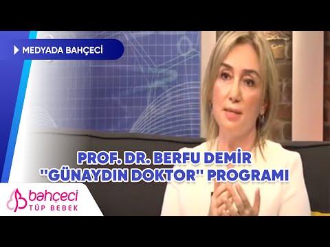 TV 8 – Günaydın Doktor – Prof. Dr. Berfu Demir