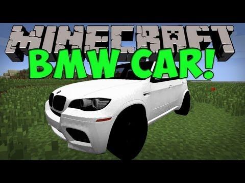 Minecraft Mods - CrazyBMW Car Mod (Minecraft 1.4.7)