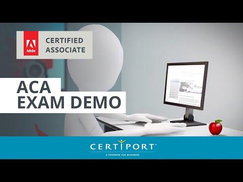 Adobe Certified Associate exam demo - YouTube