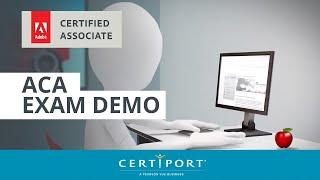 Adobe Certified Associate exam demo