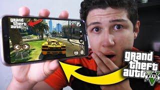 JUEGO GRAND THEFT AUTO 5 EN ANDROID!! GTA V MÓVIL & iOS