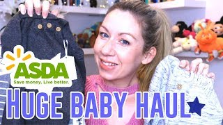 HUGE BABY BOY CLOTHING HAUL | GEORGE AT ASDA | AFFORDABLE NEWBORN CLOTHES | VLOGMAS