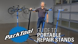 Park Tool Portable Repair Stand Comparison