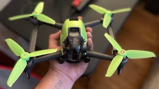 (DJI FPV DRONE) FPV CHURCH !!!! Chasing a hawk and running pyro drone props !