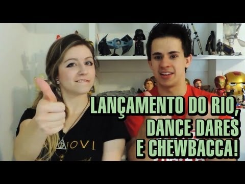 SAN TV - S01E02 - Lan�amento do Rio, Dance Dares e Chewbacca