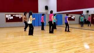 Old Sunshine - Line Dance (Dance & Teach in English & 中文)