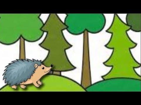 Сказка на ночь Случай в еловом лесу