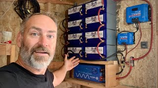 EASIEST Off Grid Solar Power System Battery Bank