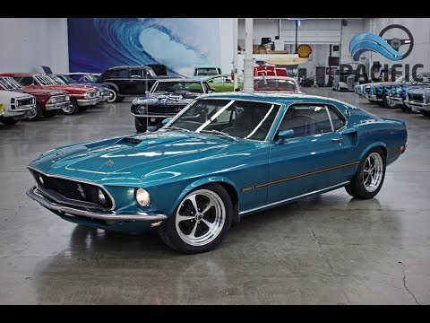 1969 Ford Mustang Mach 1: 1969 Ford Mustang Mach 1 Fastback 351/FMX