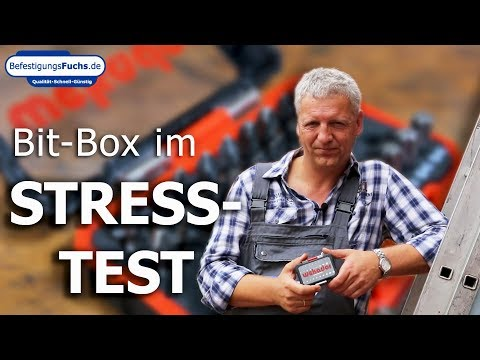 Waterproof Bit-Box im Stresstest