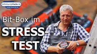 Waterproof Bit-Box im Stresstest