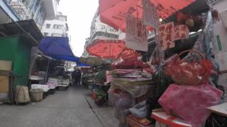 2016-03-06 A Market in Kowloon (Timelapse), Hong Kong