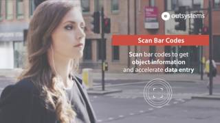 Mobile application with barcodescanner
