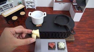 Mini Food Croquette 食べれるミニチュア コロッケ