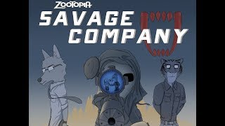 Zootopia Comic- Savage Company (CHAPTER TWO)
