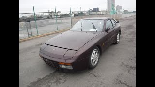 1990 Porsche 944 Turbo in need of restoration. Will be a sweet Porsche 944 once again for sure.
