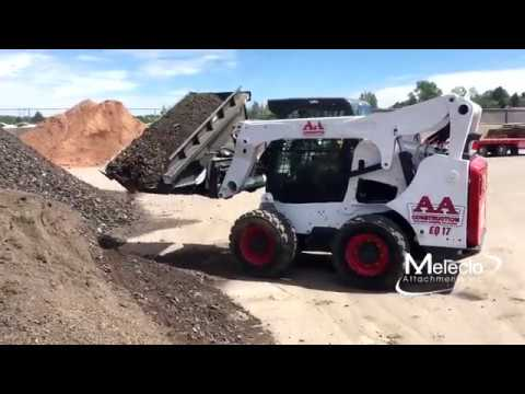 Skid Steer Side Dump Bucket