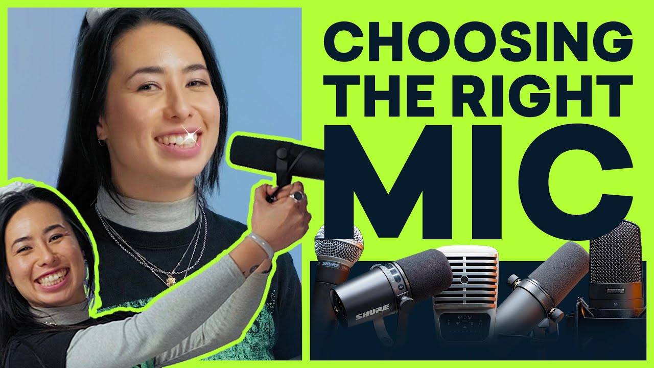 Choosing The Right Microphone For Your Voice