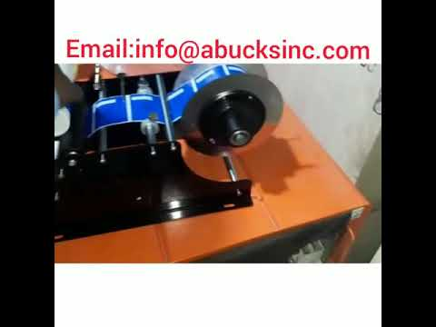 Manual Round Bottle Adhesive Sticker Labeling Machine