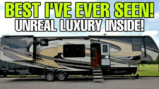 This VanLeigh BEACON fifth wheel RV will BLOW YOU AWAY! 42RDB