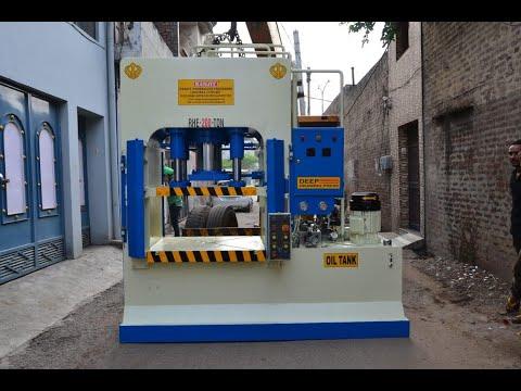 Hydraulic Deep Draw  Press 200 Tons