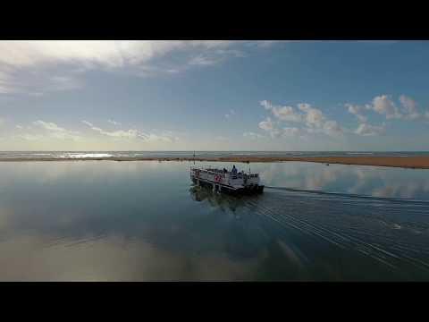 La navette fluviale de l'Ecolodge