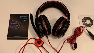 SADES SA903 Gaming Headset - Unboxing, Praxistest, Erfahrungen und Fazit   Nerdy Testing